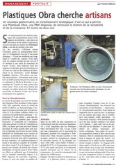 Article de l'industrie magazine